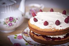 cake tea photo