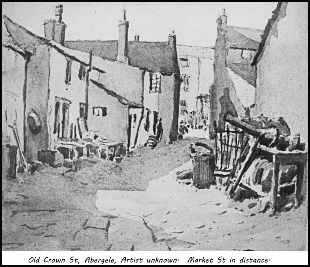 Rare picture of Crown St, Abergele