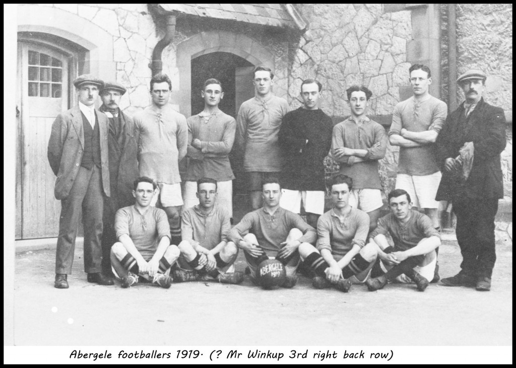 Abergele football team1919