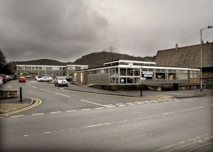 Abergele Library. Photo taken 2003-06 by Sion Jones
